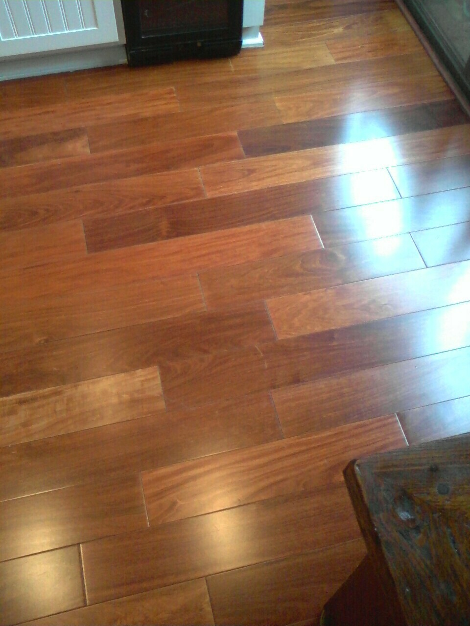 Before and after photos holt floor care for Hardwood floors dull after cleaning